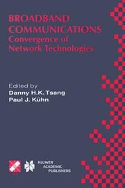 Cover of: Broadband Communications