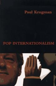 Cover of: Pop internationalism | Paul R. Krugman
