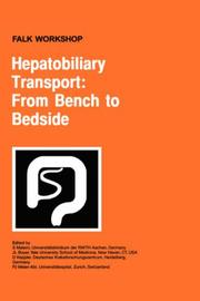 Cover of: Hepatobiliary transport |