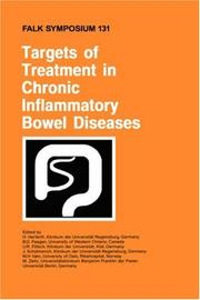 Cover of: Targets of Treatment in Chronic Inflammatory Bowel Diseases (Falk Symposium) |