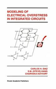 Cover of: Modeling of electrical overstress in integrated circuits | Carlos H. DiМЃaz