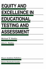 Cover of: Equity and Excellence in Educational Testing and Assessment (Evaluation in Education and Human Services) |