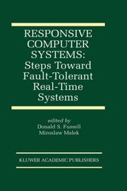 Cover of: Responsive computer systems |