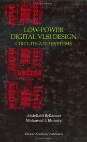 Cover of: Low-power digital VLSI design