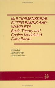 Cover of: Multidimensional filter banks and wavelets |