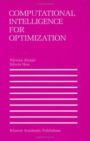 Cover of: Computational intelligence for optimization