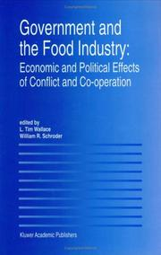 Cover of: Government and the food industry
