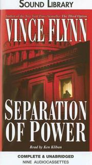 Cover of: Separation of Power