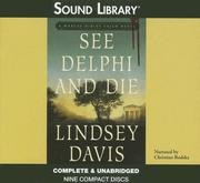 Cover of: See Delphi and Die | Lindsey Davis