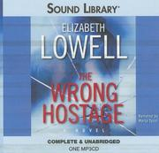Cover of: The Wrong Hostage (Sound Library)