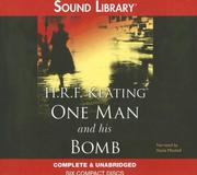 Cover of: One Man and His Bomb | H. R. F. Keating