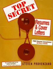 Cover of: Top Secret Resumes & Cover Letters