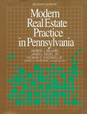 Cover of: Modern real estate practice in Pennsylvania