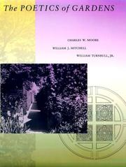 Cover of: The poetics of gardens