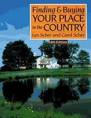 Cover of: Finding & buying your place in the country