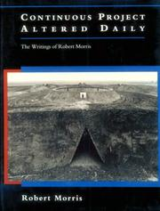 Cover of: Continuous project altered daily