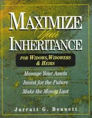 Cover of: Maximize your inheritance