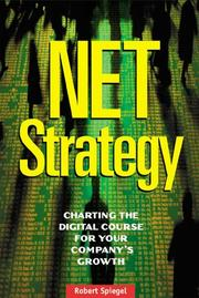 Cover of: Net Strategy