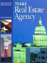 Cover of: Texas real estate agency | Donna K. Peeples