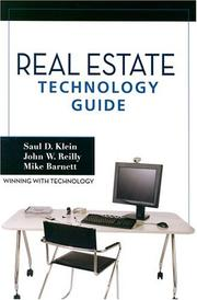 Cover of: Real Estate Technology Guide | Saul D. Klein