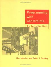 Cover of: Programming with constraints | Kim Marriott