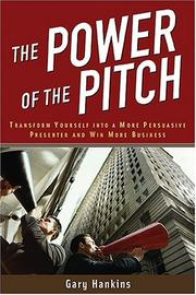 Cover of: The Power of the Pitch | Gary Hankins