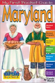 Cover of: Maryland | Carole Marsh