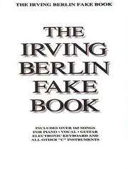 Cover of: Irving Berlin Fake Book