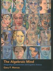 The Algebraic Mind by Gary F. Marcus