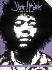 Cover of: Jimi Hendrix-note-for-note | Jimi Hendrix