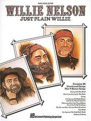 Cover of: Willie Nelson - Just Plain Willie (No. Hl00356382)