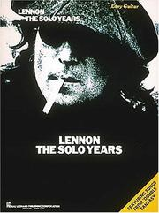 Cover of: Lennon - The Solo Years