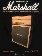 Cover of: The history of Marshall