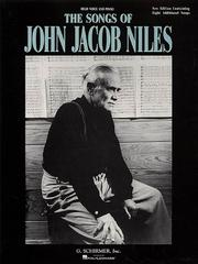 Cover of: Songs of John Jacob Niles