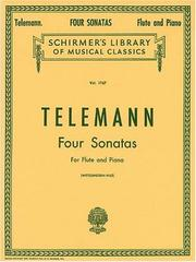 Cover of: Four Sonatas