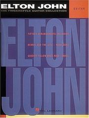 Cover of: Elton John - The Fingerstyle Collection