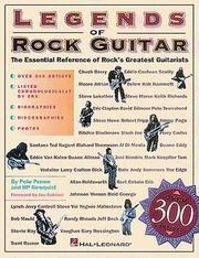 Cover of: Legends of rock guitar