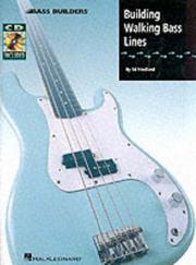 Cover of: Building Walking Bass Lines | Ed Friedland