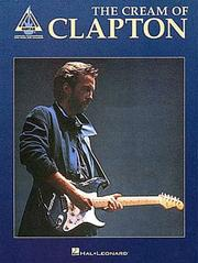 Cover of: Eric Clapton - The Cream of Clapton
