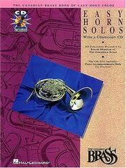 Cover of: Canadian Brass Book of Easy Horn Solos | Canadian Brass