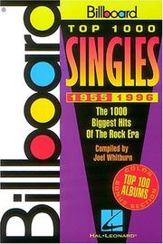 Cover of: Billboard Top 1000 Singles 1955-1992