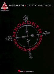 Cover of: Megadeth - Cryptic Writings*