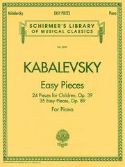 Cover of: Easy Pieces | Dmitri Kabalevsky