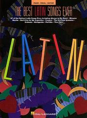 Cover of: The Best Latin Songs Ever | Hal Leonard Corp.