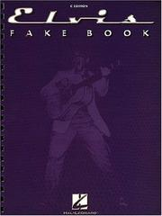 Cover of: The Elvis Fake Book