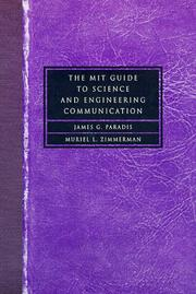 Cover of: The MIT guide to science and engineering communication