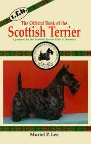 Cover of: The Official Book of the Scottish Terrier | Muriel P. Lee