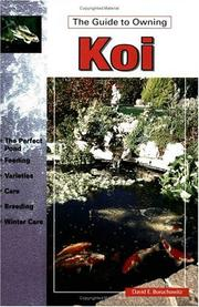 Cover of: The Guide to Owning Koi (Guide to Owning)
