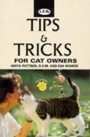 Cover of: Tips & Tricks for Cat Owners | Herta Puttner