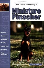 Cover of: guide to owning a Miniature pinscher | Jackie O